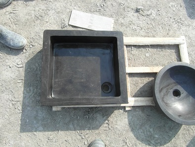 Natural bluestone basin 86